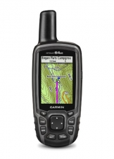Garmin GPSMAP 64st, TOPO U.S. 100K with High-Sensitivity GPS and GLONASS Receiver - 1