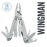 Leatherman - Wingman Multitool, Stainless Steel - 1
