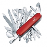 Victorinox Swiss Army SwissChamp Pocket Knife, Red - 1